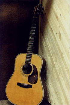 I built this 3/4 size Martin Dreadnought copy in late